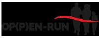 OP(P)EN-RUN Logo