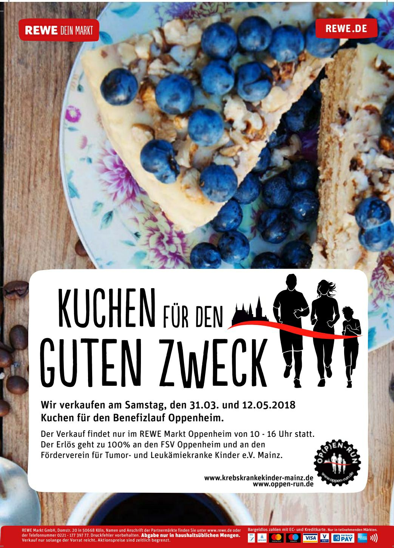 Spendenaktion Kuchen Von Rewe